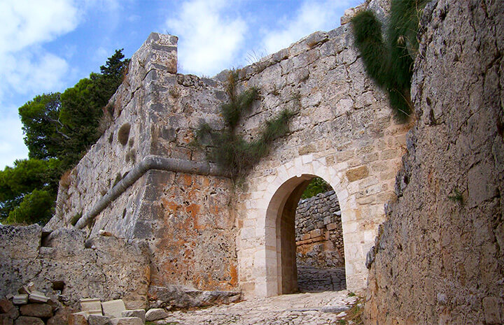Castle of Saint George Kefalonia